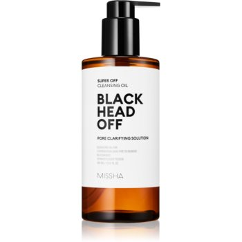 Missha Super Off ulei pentru curatarea profunda impotriva punctelor negre