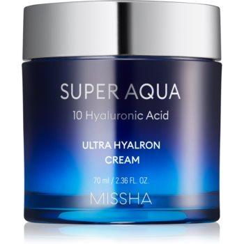 Missha Super Aqua 10 Hyaluronic Acid crema de fata hidratanta