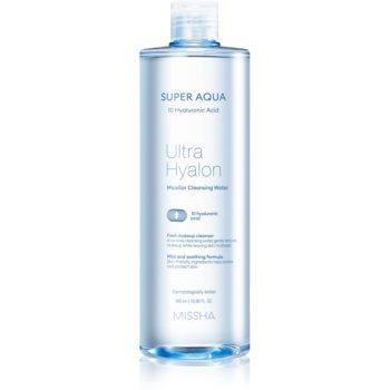 Missha Super Aqua 10 Hyaluronic Acid apă micelară pentru curățare blânda