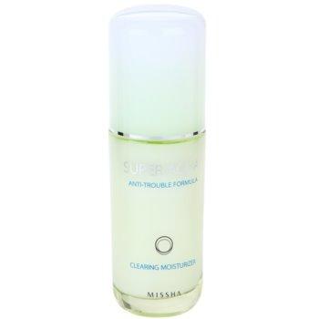 Missha Super Aqua Anti-Trouble Formula хидратираща емулсия  за проблемна кожа
