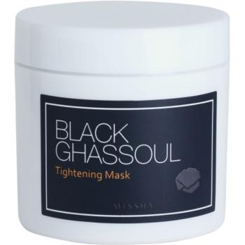 Missha Black Ghassoul mască facială cu efect de lifting pentru a strânge porii