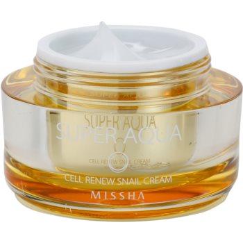 Missha Super Aqua Cell Renew Snail hranilna krema s polžjim ekstraktom 1