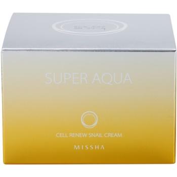 Missha Super Aqua Cell Renew Snail hranilna krema s polžjim ekstraktom 4