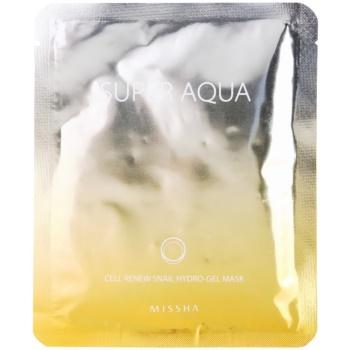 Missha Super Aqua Cell Renew Snail masca hidratanta cu extract de melc