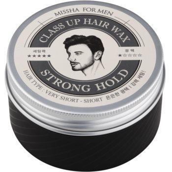 Missha For Men Class Up Hair Wax Ceară de păr cu fixare puternică