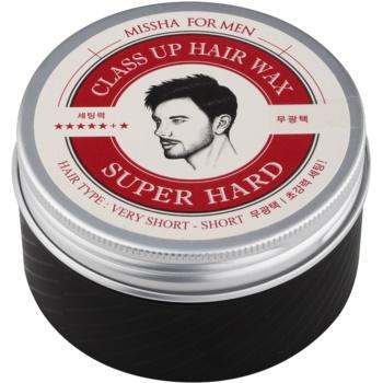 Missha For Men Class Up Hair Wax Ceară de păr cu fixare extra puternică