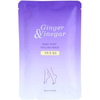 Missha Ginger & Vinegar Peeling Maske für Füssen