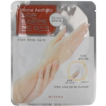 Missha Home Aesthetic masca de parafina de maini