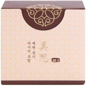 Missha Misa Yei Hyun creme esfoliante de massagem à base de plantas orientais 2