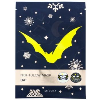 Missha Nightglow Mask maska s fluorescenčnim učinkom