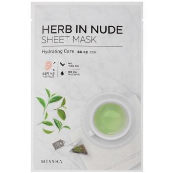 Missha Herb in Nude masca pentru celule cu efect de hidratare