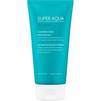 Missha Super Aqua Oil Clear spuma racoritoare de curatare