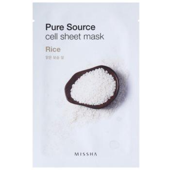 Missha Pure Source masca de celule cu efect balsamic