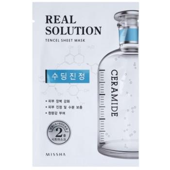 Missha Real Solution plátýnková maska se zklidňujícím účinkem