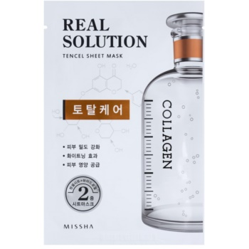 Missha Real Solution masca de celule cu ingrijire completa