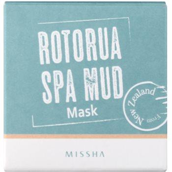 Missha Rotorua Spa Mud Gesichtsmaske vergrößerte Poren 2