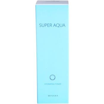 Missha Super Aqua Hauttonikum mit feuchtigkeitsspendender Wirkung 3