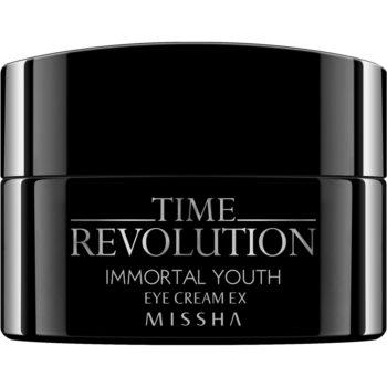 Missha Time Revolution Immortal Youth crema de ochi cu efect de netezire