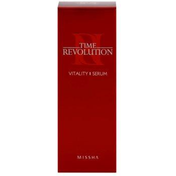 Missha Time Revolution поживна сироватка для шкіри проти мімічних зморшок 3