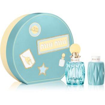 Miu Miu L'Eau Bleue Geschenkset für Damen I. Geschenkset