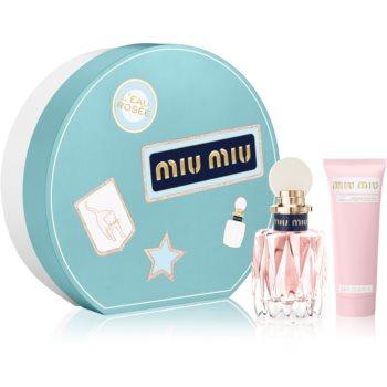 Miu Miu L'Eau Rosée Geschenkset für Damen I. Geschenkset