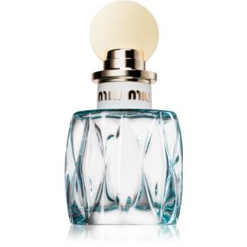 Miu Miu L'Eau Bleue eau de parfum pentru femei 50 ml