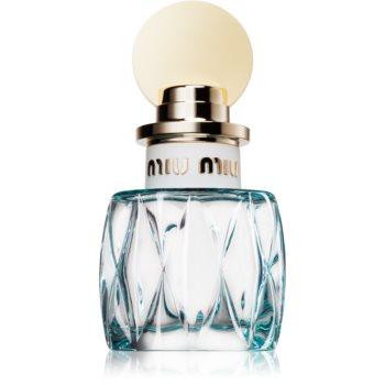Miu Miu L'Eau Bleue eau de parfum pentru femei 30 ml