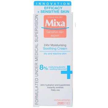 MIXA 24 HR Moisturising hydratační a zklidňující krém pro citlivou a intolerantní pleť 2
