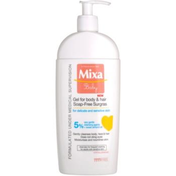 MIXA Baby 2 in 1 gel de dus si sampon pentru copii