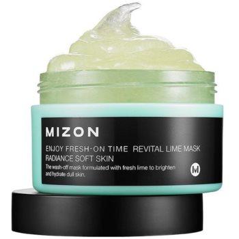 Mizon Enjoy Fresh-On Time mască revitalizantă cu lămâie verde, pentru pielea lăsată