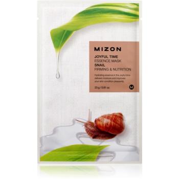 Mizon Joyful Time mască textilă nutritivă cu efect de întărire imagine