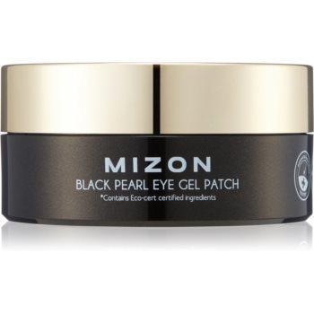 Mizon Black Pearl Eye Gel Patch masca hidrogel pentru ochi impotriva cearcanelor imagine produs