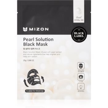 Mizon Pearl Solution mască textilă iluminatoare imagine