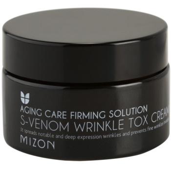 Mizon Aging Care Firming Solution Crema Anti-rid Cu Venin De Sarpe