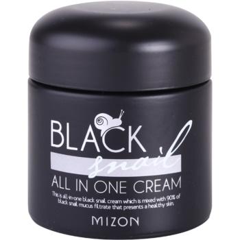 Mizon Black Snail crema pentru ten cu extract de melc 90%