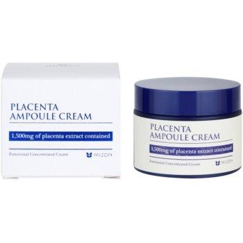 Mizon Placenta Ampoule Cream creme para regeneração e renovação de pele 2