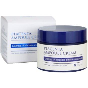 Mizon Placenta Ampoule Cream creme para regeneração e renovação de pele 3