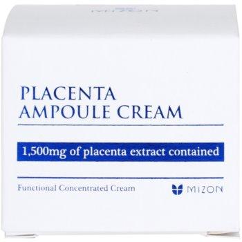 Mizon Placenta Ampoule Cream creme para regeneração e renovação de pele 4