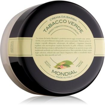 Mondial Luxury Bicolor crema de barbierit Green Tabacco 150 ml