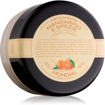 Mondial Luxury Bicolor crema de barbierit Mandarin and Spice 150 ml