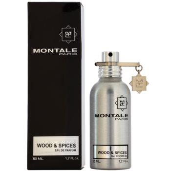 Montale Wood & Spices Eau De Parfum pentru barbati 50 ml
