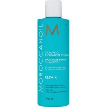 Fotografie Moroccanoil Regenerační šampon s obsahem arganového oleje na slabé a poškozené vlasy (Moisture Repai