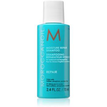 Moroccanoil Moisture Repair šampon pro poškozené, chemicky ošetřené vlasy 70 ml