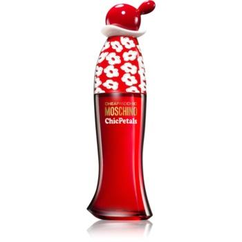 Moschino Cheap & Chic Chic Petals eau de toilette pentru femei 100 ml