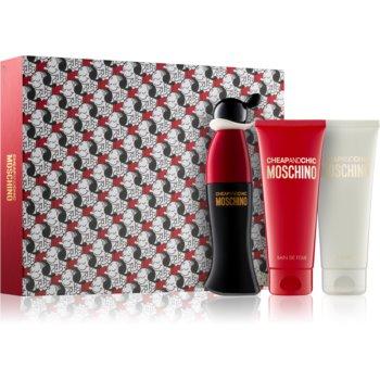 Moschino Cheap & Chic EDT 50 ml + pěna do koupele 100 ml + tělové mléko 100 ml dárková sada