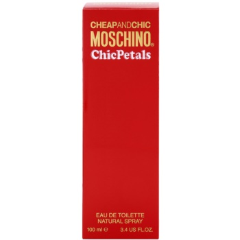 Moschino Cheap & Chic Chic Petals Eau de Toilette für Damen 4