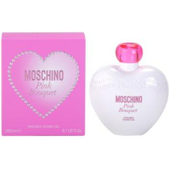 Moschino Pink Bouquet sprchový gel pro ženy