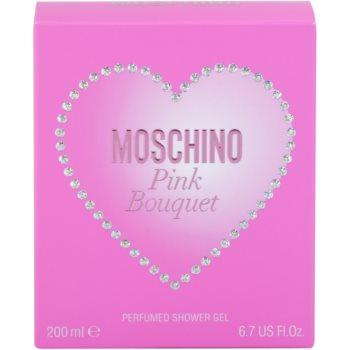 Moschino Pink Bouquet sprchový gel pro ženy 4