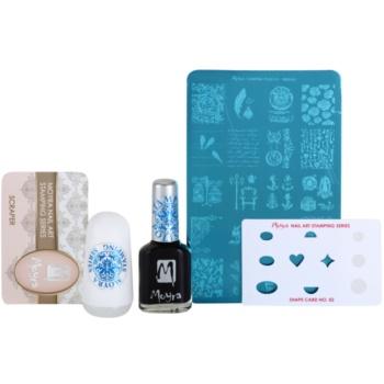 Moyra Nail Art Nail Stamping set cosmetice IV.