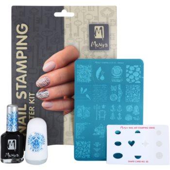 Moyra Nail Art Nail Stamping set cosmetice IV. 1